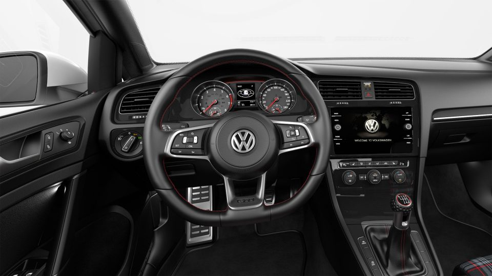 2018 Golf GTI multifunction steering wheel